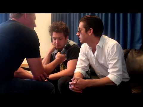 Alex Turner and Matt Helders from Arctic Monkeys chat with Leake on SiriusXM