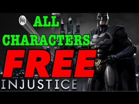 INJUSTICE ALL CHARACTERS FREE TODOS LOS PERSONAJES GRATIS iOS iPhone