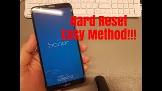 How to Hard reset Huawei Honor 7X BND-L21.Unlock pin,pattern,password lock.