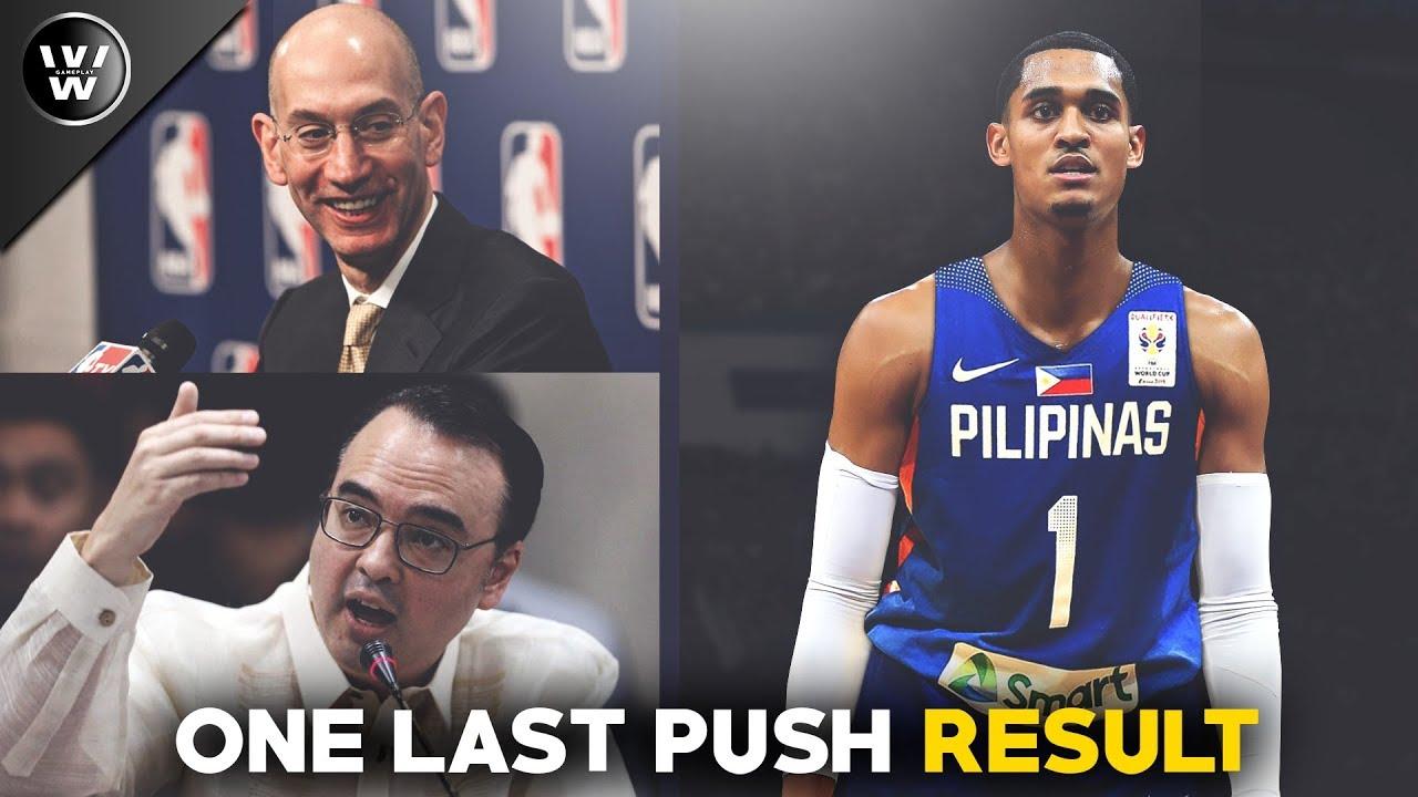 Cayetano, Kinausap ang NBA para Payagan si JC   One Last Push Result