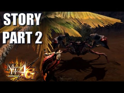 Let's Play Monster Hunter 4 Ultimate (4G) STORY 2: Daimyo Hermitaur and the Amazing New Charge Blade