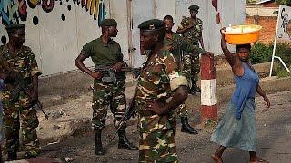 Burundi'de Muhalif Protestocularla Ordu Karşı Karşıya