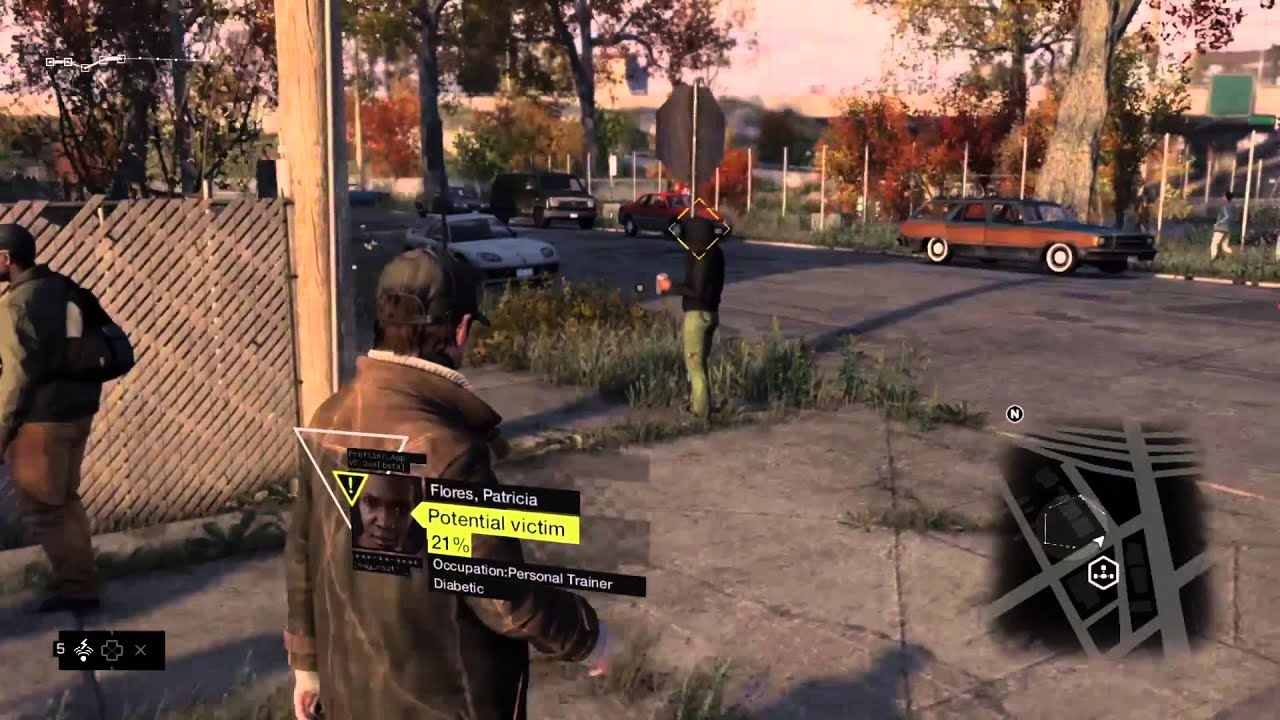 Watch Dogs  Xbox  Gameplay