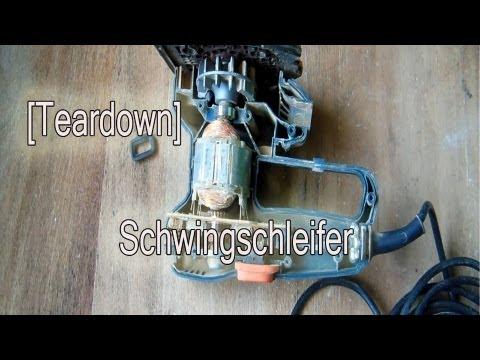 [Teardown] Black & Decker - Schwingschleifer