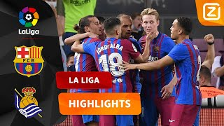 GENIETEN! BARCA IS ON FIRE! 🔥 | Barcelona vs Real Sociedad | La Liga 2021/22 | S