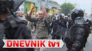 Protesti boraca u Sarajevu