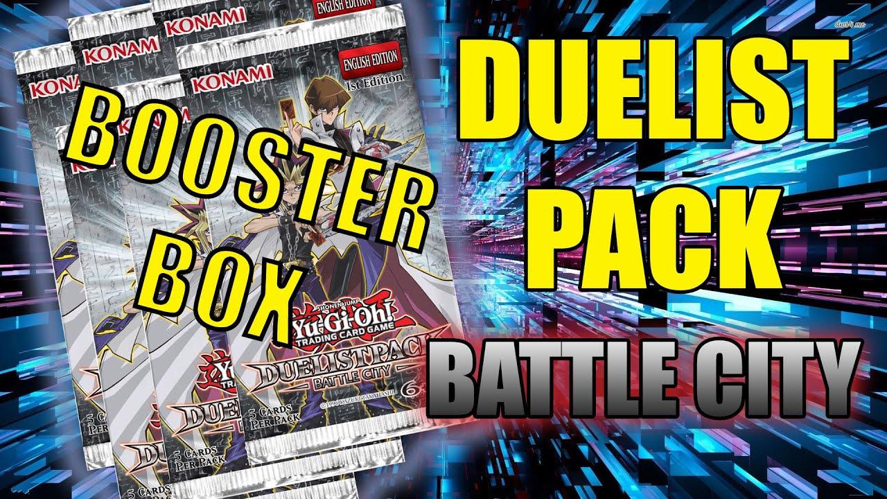 Duelist Pack Battle City Box Battle City Booster Box