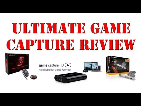 Ultimate Game Capture Device Review - Elgato Game Capture HD Avermedia Live Broadcaster Hauppauge