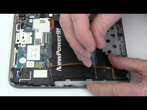 How To Replace Your Samsung GALAXY Note 10.1 GT-N8000 Battery