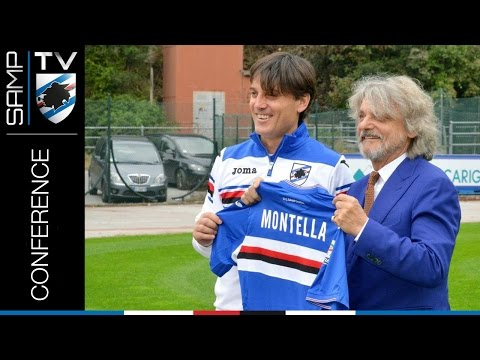Conferenza stampa di presentazione di Vincenzo Montella