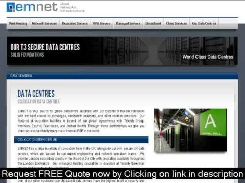 TOP UK Server COLOCATION Services Providers