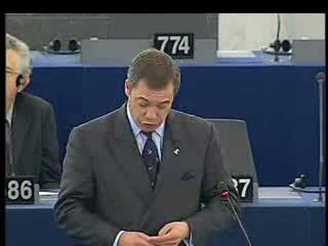 EU Corruption - Jos Manuel Barroso Getting Dressed Down