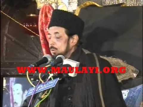 Allama Zameer Akhtar Naqvi In Chota Imambada,lucknow 3rd Majlis video