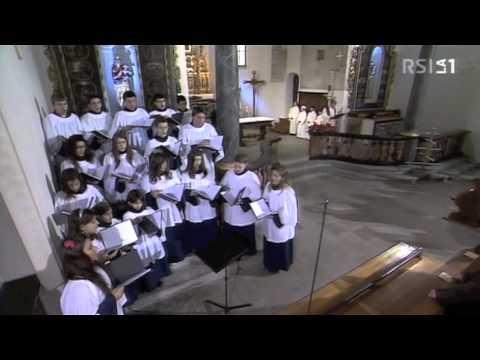 Alleluia, Messa in diretta nazionale da Quinto (TI) - Scuola Corale della Cattedrale di Lugano