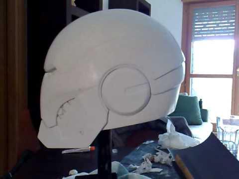 Tutorial Helmet Iron Man Iron Man Helmet Tutorial
