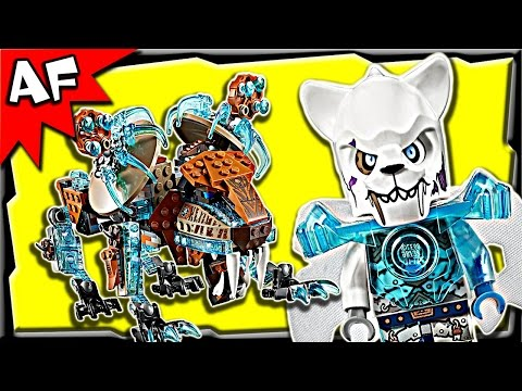 Lego Chima Sir Fangar's SABRE-TOOTH WALKER 70143 Stop Motion Build Review