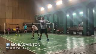 SOLID BADMINTON DEFENSE CAN MAKES YOUR OPPONENTS CONFUSED!! WATCH THIS VIDEO BEFORE YOU BELIEVED!!