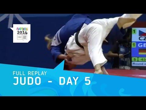 Judo - Mixed Team Preliminaries | Full Replay | Nanjing 2014 Youth Olympic Games