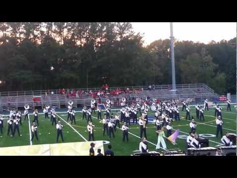 Wheeler High School Marching Band 2012 Complete Show
