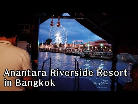Anantara Riverside Resort in Bangkok (방콕자유여행 추천 호텔)