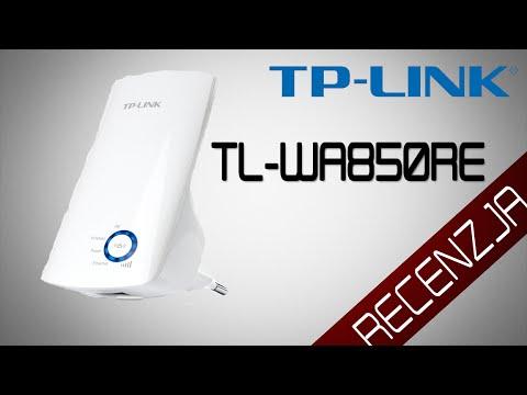 TP-LINK TL-WA850RE - 300Mbps - Range Extender - Recenzja wzmacniacza Wi-Fi [RECENZJA[