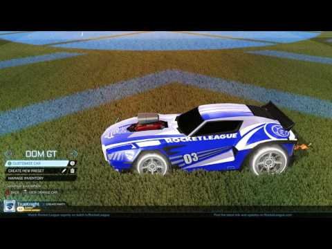 Rocket League - Titanium White Apex and RLCS items