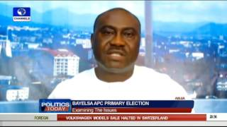 Politics Today Focuses On Bayelsa APC Primary Election 27/09/15 Pt 4