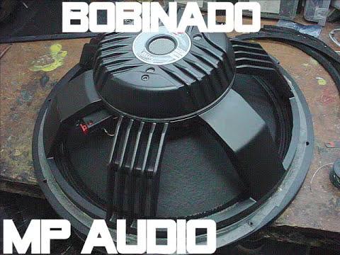 FABRICACION DE BOBINA PARA PARLANTE DAS 18 PULGADAS MP AUDIO