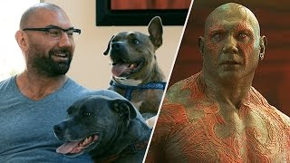 Guardians of the Galaxy?s Dave Bautista Loves Dogs