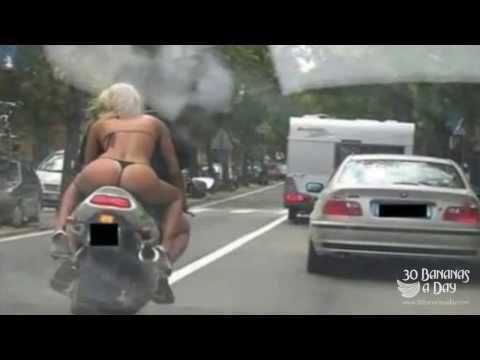 Horrific Motorbike Crash Bangkok Thailand