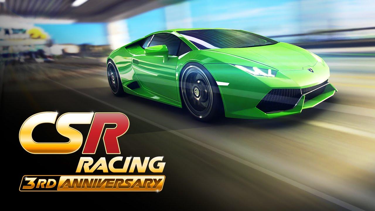 ���� ��� ��� �������� ������� : CSR Racing v3.1.0 ����� �����