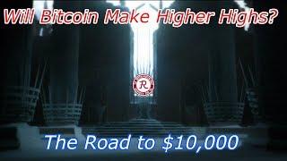 Bitcoin Live : BTC Over $8,000. Rally to $8,500 Soon? Episode 517 - Crypto Technical Analysis