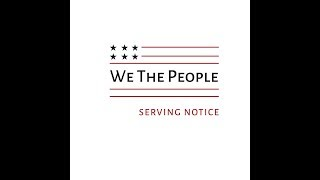 We the People: Serving Notice Opening Reception Lecture