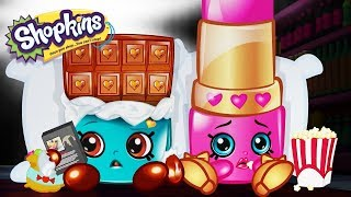 SHOPKINS - SHOPKINS AT THE MOVIES | Cartoons For Kids | Toys For Kids | Shopkins Cartoon