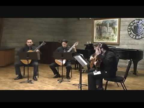Rumba by Stepan Rak performed by the Kean University Guitar Ensemble, Christopher Kenniff, director