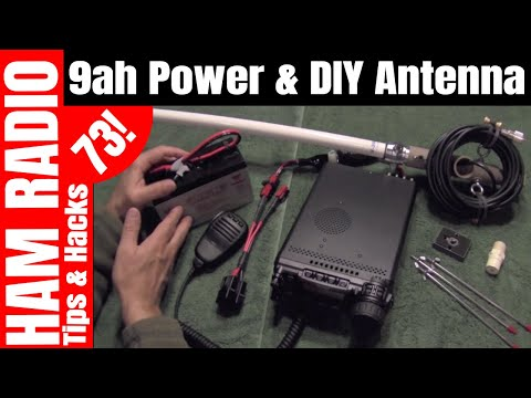 Portable Battery Power for Yaesu FT-857D