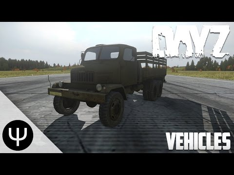 DayZ Standalone — 0.5 Preview — Vehicles!