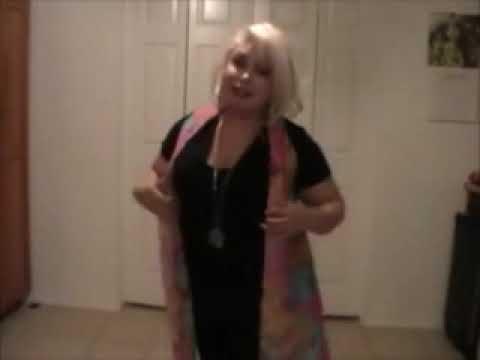 Tutorial: Como hacer un chaleco de moda, sin usar maquina de coser ni costuras.