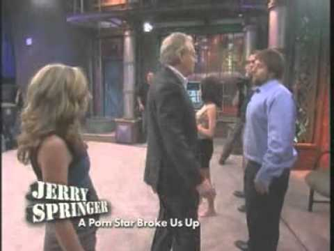 A Porn Star Broke Us Up (the Jerry Springer Show) video