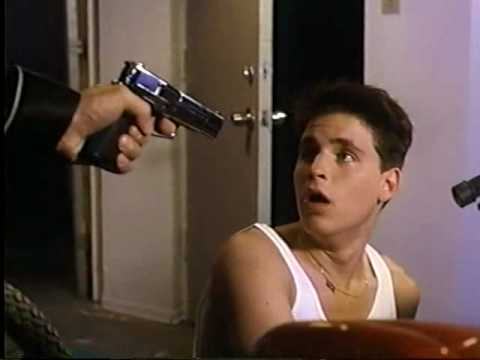 BLOWN AWAY (1992) VHS promo trailer - Corey Haim, Nicole Eggert, Corey Feldman Video