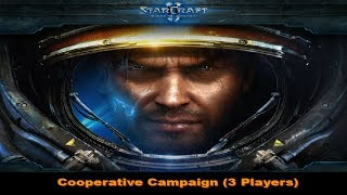 StarCraft 2: Wings of Liberty 3 Player Campaign - 01 Liberation Day