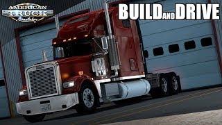 FTG BUILD AND DRIVE   JON RUDA FREIGHTLINER CLASSIC XL   AMERICAN TRUCK SIMULATOR MULTIPLAYER
