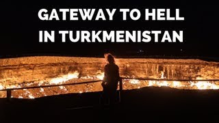 [Eps. 66] GATEWAY TO HELL - Royal Enfield Himalayan BS4 - ride through Turkmenistan