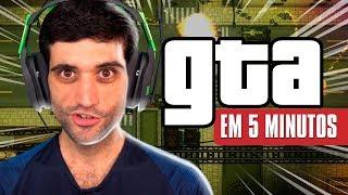ZERANDO GTA em menos de 5 MINUTOS, completamente INSANO - REACT