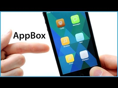 AppBox - iOS 7 Jailbreak Tweak - App short cuts DIRECTLY from the lockscreen
