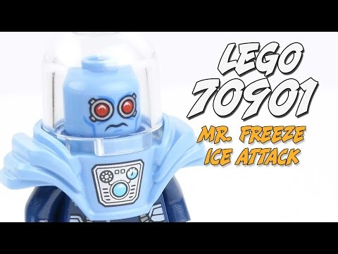 LEGO Speed Build and Review of Mr. Freeze Ice Attack (Set 70901)