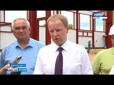 Виктор Томенко побывал на Екатерининской штольне в Змеиногорске
