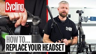 How to replace your integrated headset | Cycling Weekly