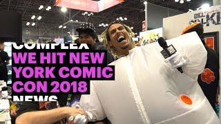 Complex News Hit New York Comic Con 2018