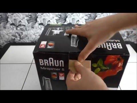 ОБЗОР блендер БРАУН (Braun) ДОМАШНЕЕ видео